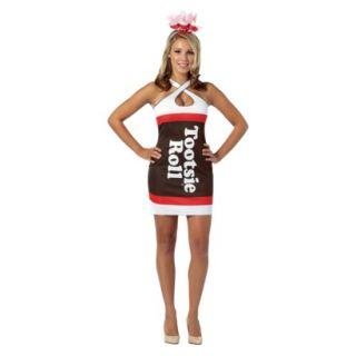 Womens Tootsie Roll Teardrop Dress Costume   On