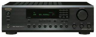 Onkyo TX 8255 Digitaler Stereo Audio Receiver (UKW /MW Tuner, 90 Watt, Phono Eingang, Lautsprecher A/B, RI Dock) schwarz Heimkino, TV & Video