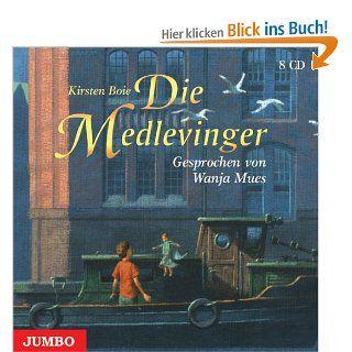 Die Medlevinger. 8 CDs: Kirsten Boie, Wanja Mues: Bücher