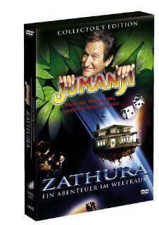 Zathura   Ein Abenteuer im Weltraum & Jumanji Collector's Edition 2 DVDs: Josh Hutcherson, Jonah Bobo, Robin Williams, Kirsten Dunst, Jon Favreau, Joe Johnston: DVD & Blu ray