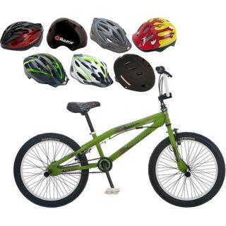 Mongoose 20 Hoop D Boys BMX Bike & Helmet Value Bundle