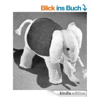 CROCHETED ELEPHANT Vintage Stuffed Animal TOY CROCHET PATTERN from the Mid 1900s (Children Kids Crafts) Kindle Download eBook eBook: Northern Lights Vintage: Kindle Shop