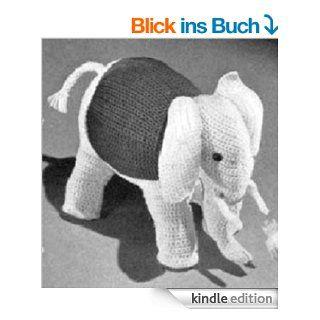 CROCHETED ELEPHANT Vintage Stuffed Animal TOY CROCHET PATTERN from the Mid 1900s (Children Kids Crafts) Kindle Download eBook eBook: Northern Lights Vintage: Kindle Shop