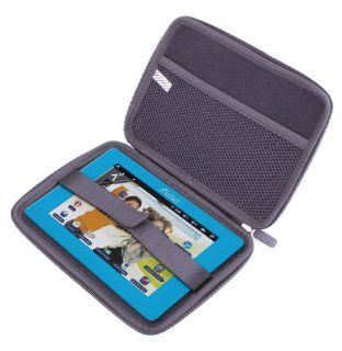 """DURAGADGET """"Tough"""" Black Hard Clam Shell Style Cover With Soft Felt Interior For Lexibook Tablet Junior 2, Lexibook Tablet Master 2, Lexibook Tablet Ultra 2, Lexibook Tablet Master & Tablet Advance Computers & Accessories"""