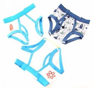 Toy Story Buzz Lightyear Sz. 2T/3T Boys Briefs Pack Of 3 Underwear Clothing