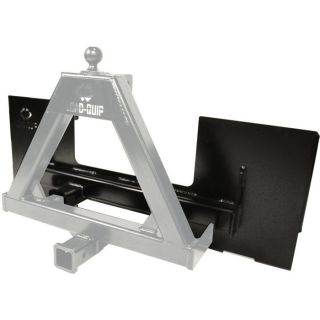 Load-Quip Dual Hitch Receiver Plate  Skid Steers   Attachments