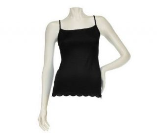 Jockey No Panty Line Promise Camisole with Lace Trim —