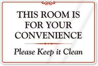Pin Funny Keep Bathroom Clean Signs on Pinterest
