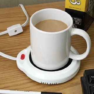 Mug Warmer Mini Hot Plate Keeps Drink Perfect Temp Coffee Cups Kitchen & Dining