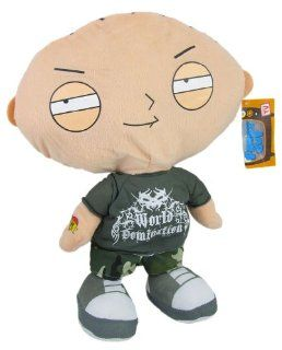 "Family Guy Stewie Griffin Punk Rocker Jumbo Plush Figure Doll 16"": Toys & Games"