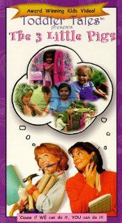 3 Little Pigs [VHS] Toddler Tales Movies & TV