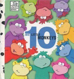 Ten Little Monkeys Danny Brooks Dalby, Shannon Osborne Thompson, Susie Garland Rice 9781577592181  Kids' Books