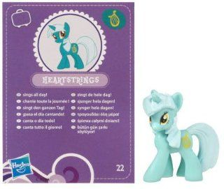 My Little Pony Friendship is Magic 2 Inch PVC Figure Lyra Heartstrings Purple Card Toys & Games
