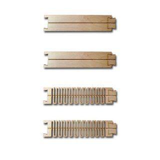 KKPMO H0 Laserstreet 2x flexible Fahrbahn + 2 St�ck 212,5mm x 50mm Fahrbahn Gerade f�r Magnetband DCC Car System Strassenelemente: Spielzeug