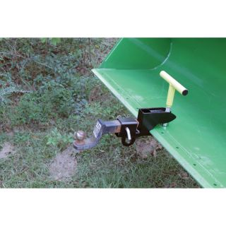 Load-Quip 2in. Class 3 Hitch Receiver Clamp with Lift Ring, Model# 29211766  Bucket Accessories