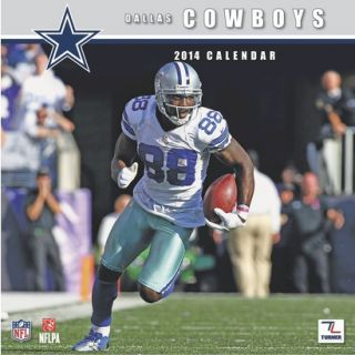 2014 Dallas Cowboys Wall Calendar