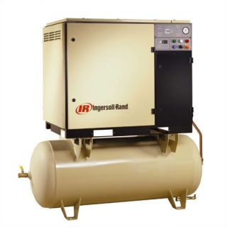 Ingersoll Rand 120 Gallon, 150 PSI, 112 CFM Rotary Screw Air Compressor Tools