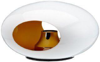 Esprit 308665 Pebble Tischleuchte / Glas au�en wei� innen amber / � 30 x 17 cm / 40 W, 230 V, E14: Beleuchtung