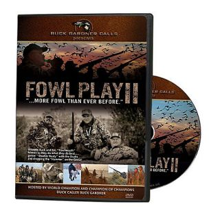 Buck Gardner Fowl Play II DVD 426334