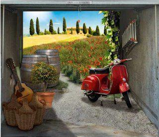 style your garage Foto Plane f�r Garagentore, Bella Italia 245 cm x 210 cm: Küche & Haushalt