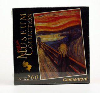 Puzzle 250 Teile Munch: Der Schrei (Minipuzzle) 21101 3 von Clementoni Puzzlefl�che: 33,6 x 23,5 cm Das ideale Puzzle f�r den Urlaub Oder eben mal so.: Spielzeug