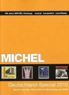 Michel Deutschland Spezial Katalog 2010/2 Bücher