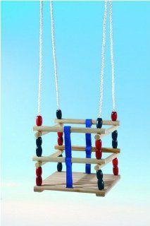 Schaukel Gitterschaukel   Babyschaukel aus Holz   Doppelgalerie Spielzeug
