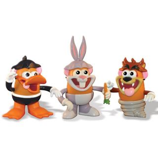 Mr. Potato Head Looney Tunes Set, Looney Tunes Tasmanian Devil, Bugs Bunny And Daffy Duck, Looney Tunes Action Figures