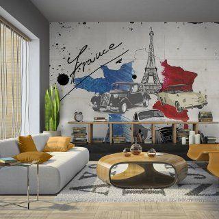 Vlies Tapete  Top  Fototapete  Wandbilder XXL  350x270 cm   Landkarte  Paris  10040910 1 Küche & Haushalt