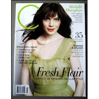 Michelle Monaghan on Cover of C Magazine April 2011 Lesley Campoy Books