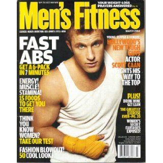 Men's Fitness Magazine (March, 2004): Tony Romando: Books