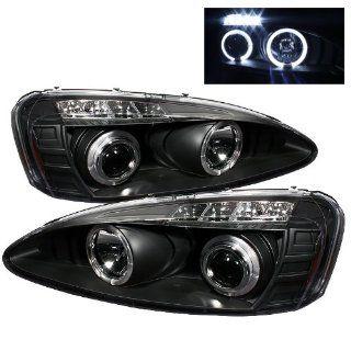Pontiac Grand Prix 04 05 06 07 08 Halo Projector Headlights   Black (Pair): Automotive