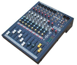 Pyle Pro PEMP6 6 Channel Professional Stereo Console  Mixer Musical Instruments