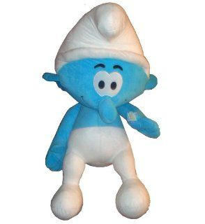 "Nanco 2011 "" THE SMURFS "" Movie Large 18 Inch Clumsy Smurf Stuffed Plush Doll Toy: Toys & Games"