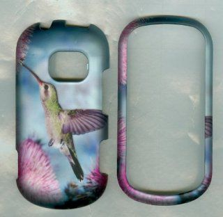 Humming Bird Peace Love Lg Extravert Vn271 Verizon Case Cover Hard Case Snap : Cell Phones & Accessories