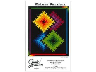 "Marilyn Foreman quilt pattern ""Twister Illusions"""