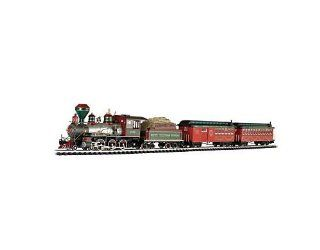 """Bachmann White Christmas Express Ready To Run Electric Train Set   Large """"G"""" Scale Toys & Games"""