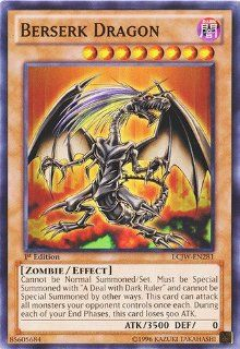 Yu Gi Oh   Berserk Dragon (LCJW EN281)   Legendary Collection 4 Joey's World   1st Edition   Common Toys & Games