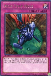 Yu Gi Oh   Acid Trap Hole (LCYW EN283)   Legendary Collection 3 Yugi's World   1st Edition   Rare Toys & Games