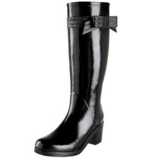 Kate Spade New York Women's Randi Rain Boot,Black,5 M Shoes