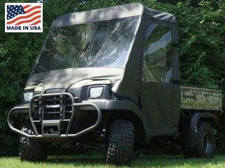 GCL UTV Kawasaki Mule 3000/3010 Full Cab Enclosure with Vinyl Windshield. KAW301 FCE: Automotive