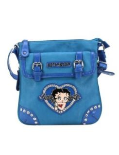 Betty Boop Crossbody Bag   B14F309 Beige: Shoes