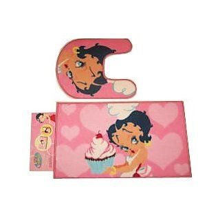Betty Boop Pink Mat Bathroom Set Non Skid: Toys & Games