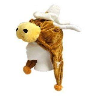 Texas Longhorns Mascot Hat  Sports Fan Novelty Headwear  Sports & Outdoors