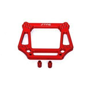 ST Racing Concepts ST3639R 6mm Had Front Shock Tower for Stampede, Rustler, Slash and Bandit (Red) Toys & Games