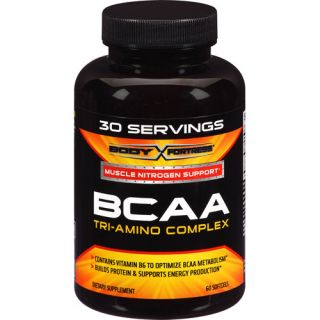 Body Fortress BCAA Tri Amino Complex Softgels, 60 count Diet & Nutrition
