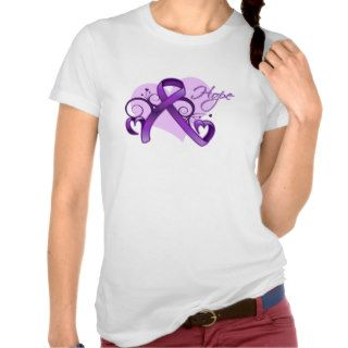 Floral Ribbon Hope   Lupus Tees