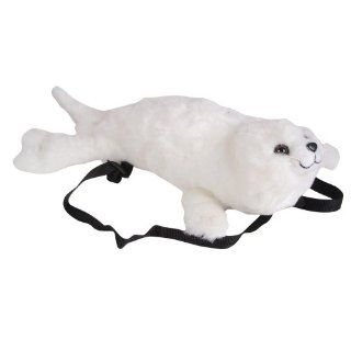 "17"" Harp Seal Plush Stuffed Animal Backpack Toys & Games"