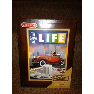 Parker Brothers Vintage Game Collection Wooden Book Box The Game of Life: Toys & Games