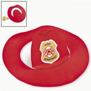 Fireman Hats Craft Kit   Crafts for Kids & Hats & Masks: Childrens Paper Craft Kits: Clothing